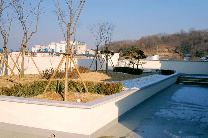 유앤미병원 옥상